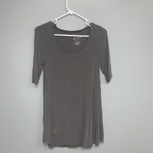 American Eagle soft and sexy tee in grey